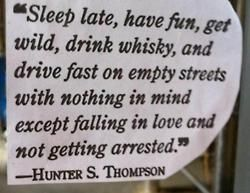 I LOVE this quote! ha ha