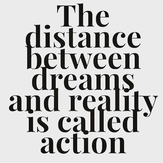Image result for take action in your dream