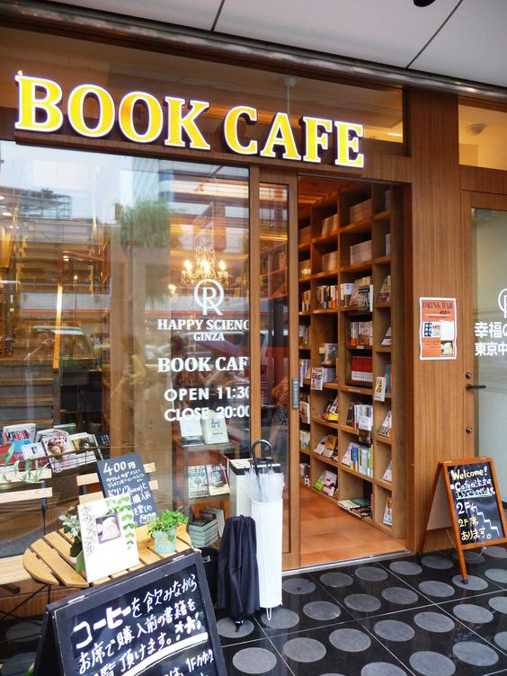 Book Cafe that is just amazeballs !