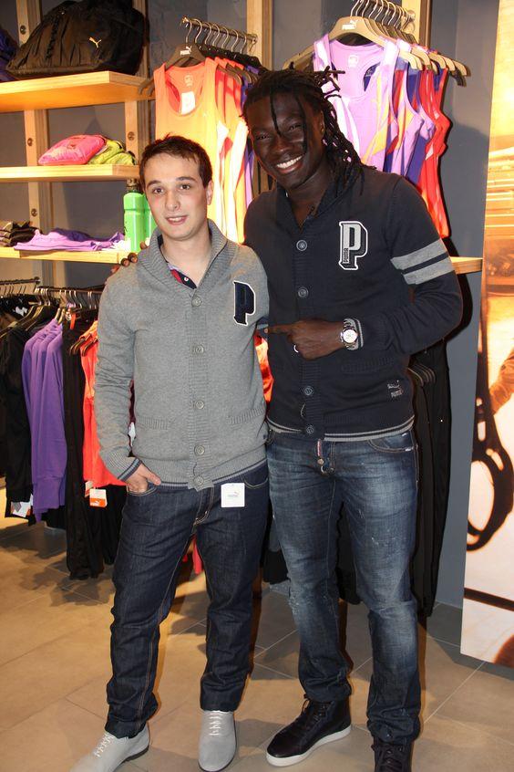 Shopping avec Bafé Gomis