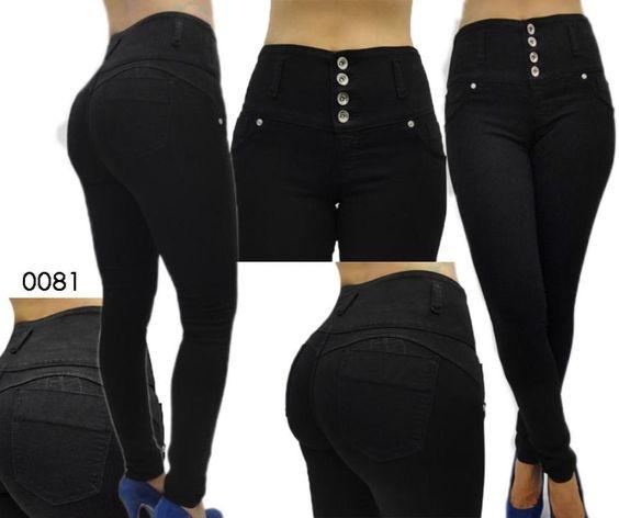 ae8c4655e41d pantalones levanta cola cintura alta