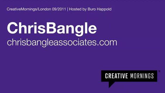 Chris Bangle at Creative Mornings/London 2011 | CHRIS BANGLE (Former Chief of Design, BMW Group), Speaker at C2-MTL 2013 / (Ancien chef de design, BMW Group), Conférencier à C2-MTL 2013 #C2MTL