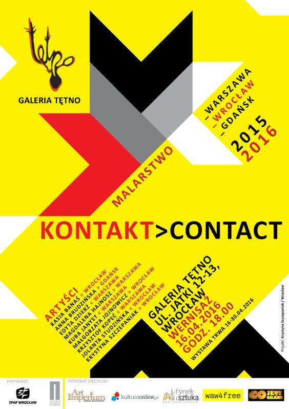 Contact Kontakt wystawa malarstwa