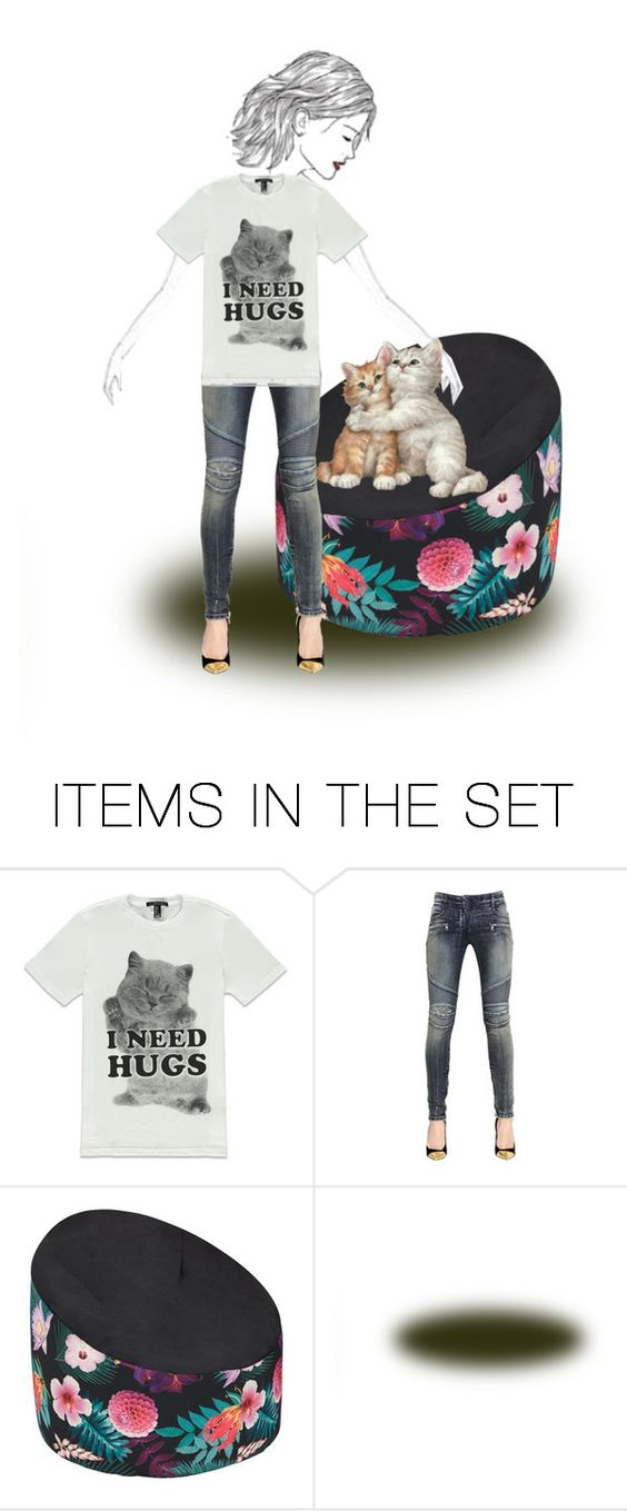 """""""If You Have Pets, Treat Them Well..Show Your Love.."""" by marlenajo-b ❤ liked on Polyvore featuring art and womenofacreativeedge"""