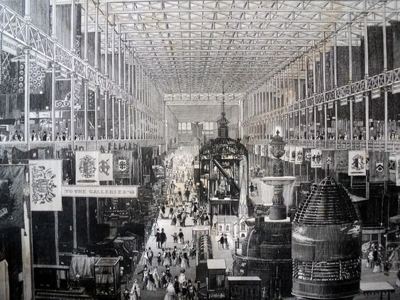 Main Avenue of the Great Exhibition 1851