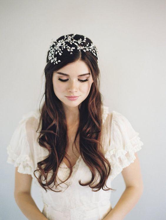 Mariée d'hiver ⛄ VS mariée d'été 🌞 : L'accessoire 1