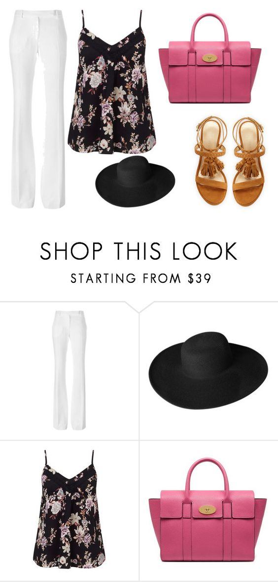 """cfvgtyhujikol"" by v-askerova on Polyvore featuring мода, Alexander McQueen, Dorfman Pacific, Miss Selfridge, Mulberry и Stuart Weitzman"