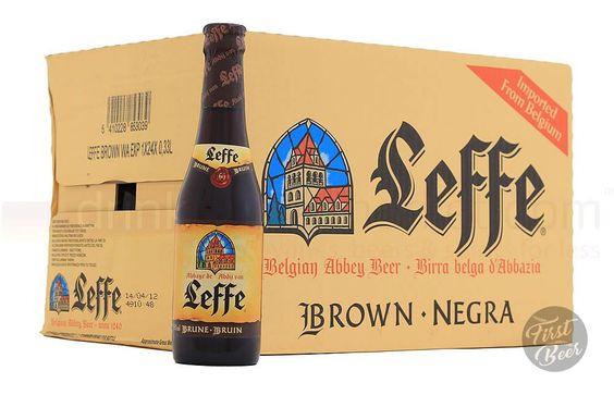 Thùng bia leffe nâu 330ml