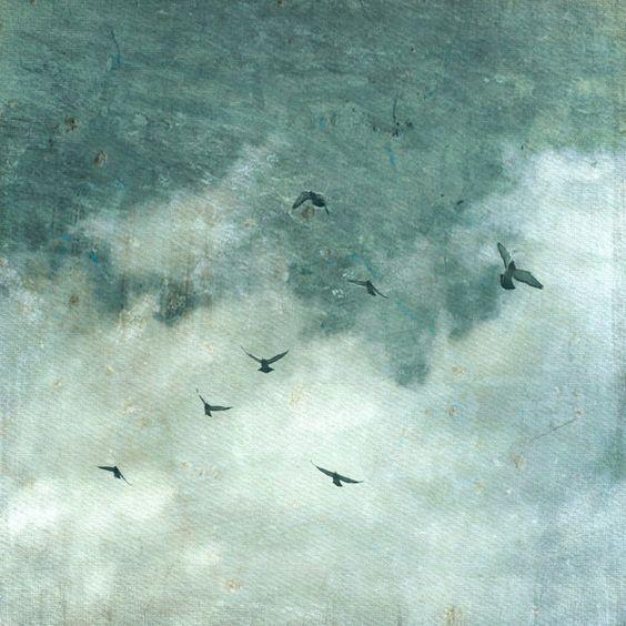 Wild sky 2, 21 x 21cm von BlickFangFotografie auf DaWanda.com