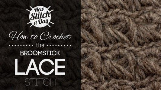 Crochet Lace and Shells :: New Stitch A Day	Crochet Lace and Shells :: New Stitch A Day