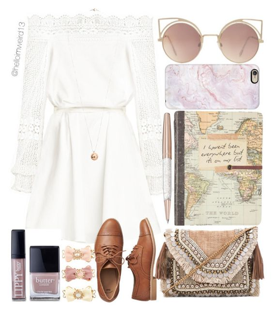 """mumford and sons - i will wait"" by helloimweird13 on Polyvore featuring Shashi, Butter London, MANGO, Dorothy Perkins, Swarovski, Monsoon, Gap and Casetify"