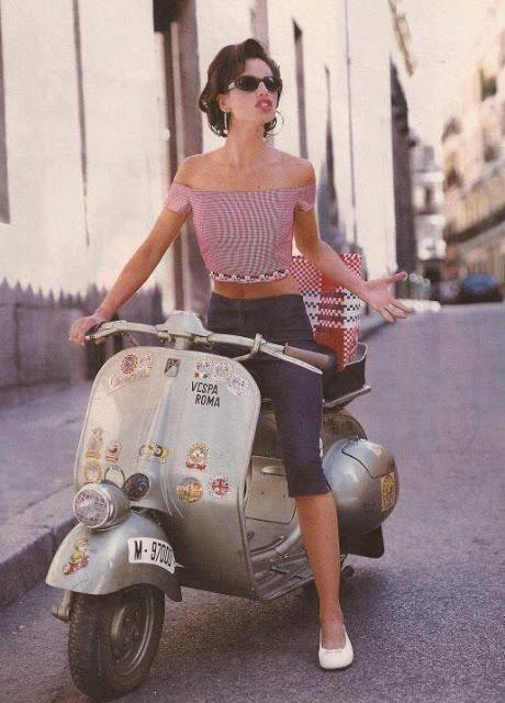 Vintage Italian Style. Hand Pinned by Feron Clark Style