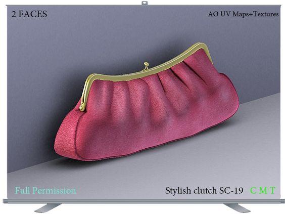 Stylish clutch SC-19 Full Permission