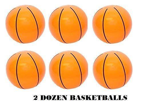 Rhode Island Novelty Inflatable Basketballs 16 Inch 2 Dozen