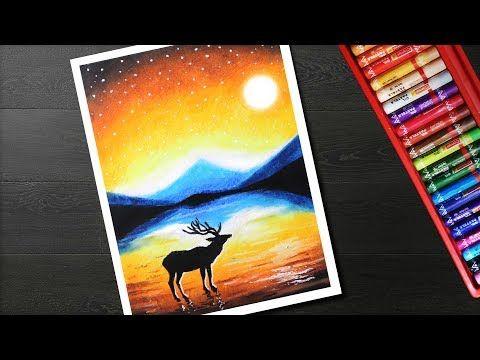 Youtube Oil Pastel Oil Pastel Art Oil Pastel Paintings