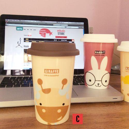 Cute Animal Coffee Mug (Ceramic)