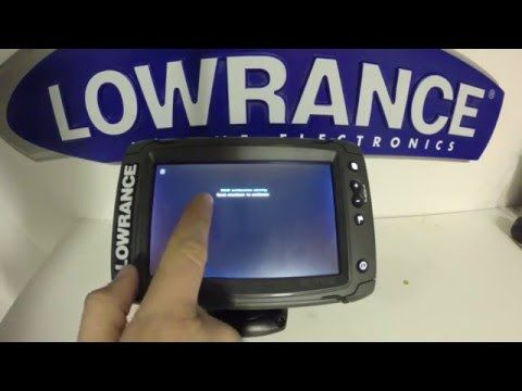 Lowrance Elite 7 Ti Pt 6 Reset And Screen Calibration Procedure Youtube Screen Calibration Screen Reset