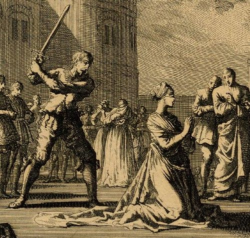 Detail of Execution of Anne Boleyn | Print depicting the exe… | Flickr