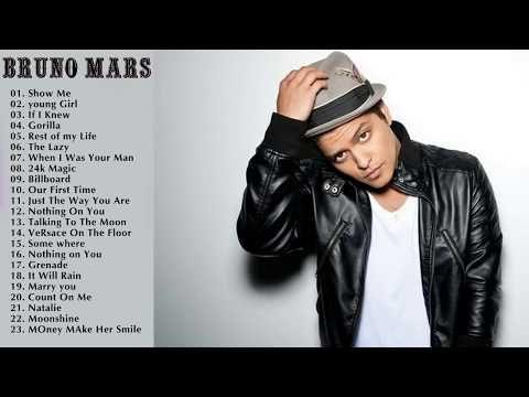 Bruno Mars Greatest Hits Playlist The Best Songs Of Bruno Mars Nonstop Full Album Youtube Best Songs Greatest Hits Album Songs