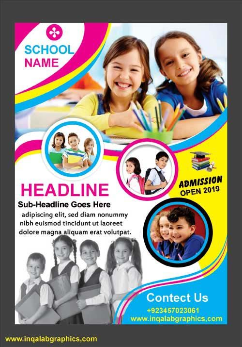 School Brochure Template Free Download Barka