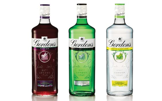 Gordon's re-design http://www.foodbev.com/news/gordons-gin-adopts-first-new-packaging-design-in-70-years/