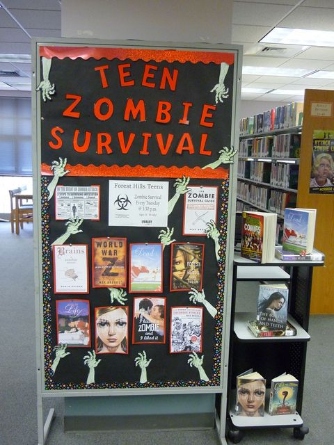Teen Zombie Survival @ Forest Hills Library: