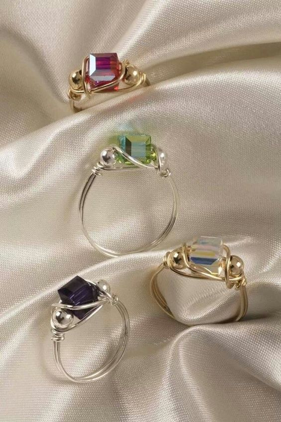 Rings DIY                                                                                                                                                                                 More: