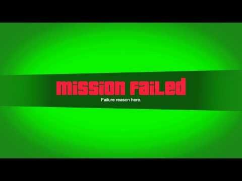 Gta V Mission Failed Nextgen 1080p Green Screen Requests Closed Youtube Criar Canal No Youtube Ideias Para Videos Do Youtube Logotipo Do Youtube