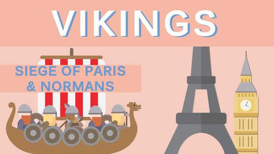 VIKINGS - SIEGE OF PARIS & NORMANS