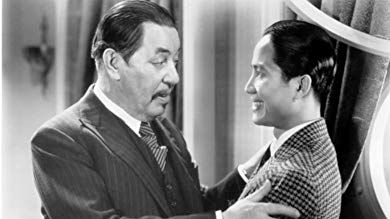 Keye Luke and Warner Oland in Charlie Chan at the Olympics (1937)