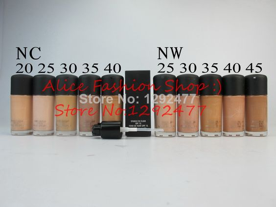Wholesale 8PCS Brand Makeup Liquid Foundation STUDIO FIX FLUID SPF 15 FOND DE TEINT 30ML Liquid Foundation Free Shipping US $48.00