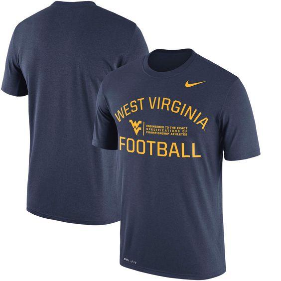 West Virginia Mountaineers Nike Legend Lift Performance T-Shirt - Navy - $29.99