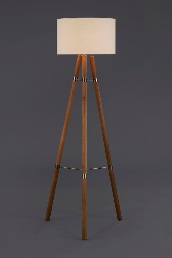Buy Wooden Floor Lamp From The Next UK Online Shop