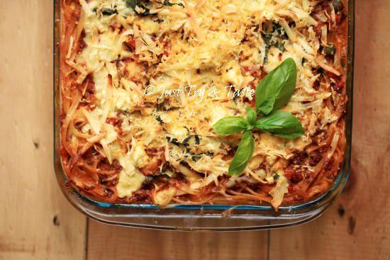 Resep Spaghetti Lasagna Yang Top Markotop Spageti Lasagna Masakan