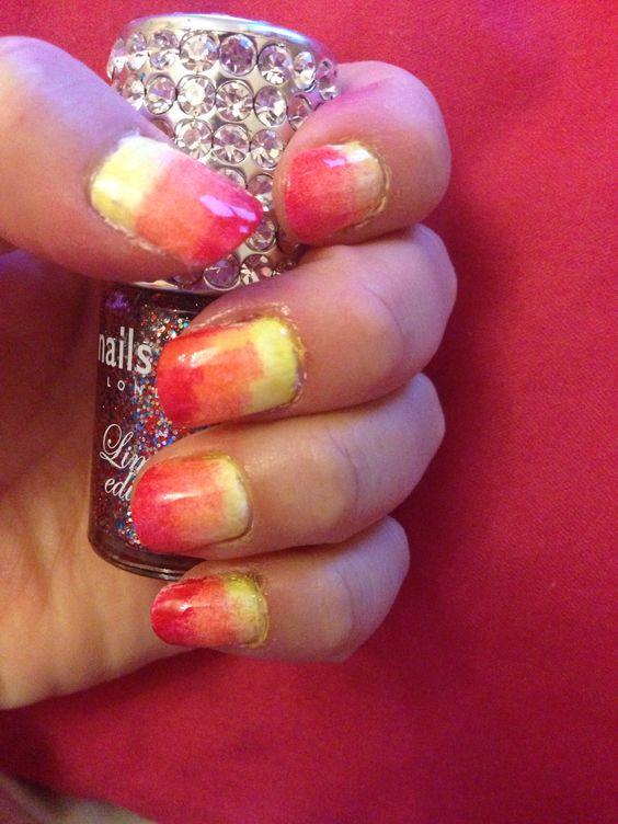 Omber nail art