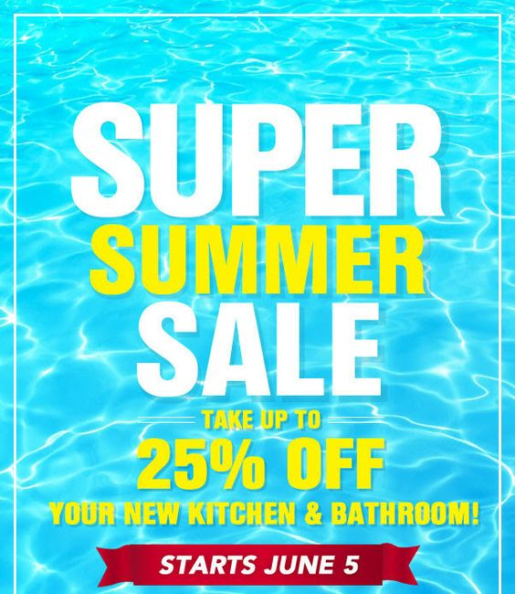 Our Super Summer Sale is going on now through June 12th. Visit us online to find out more!