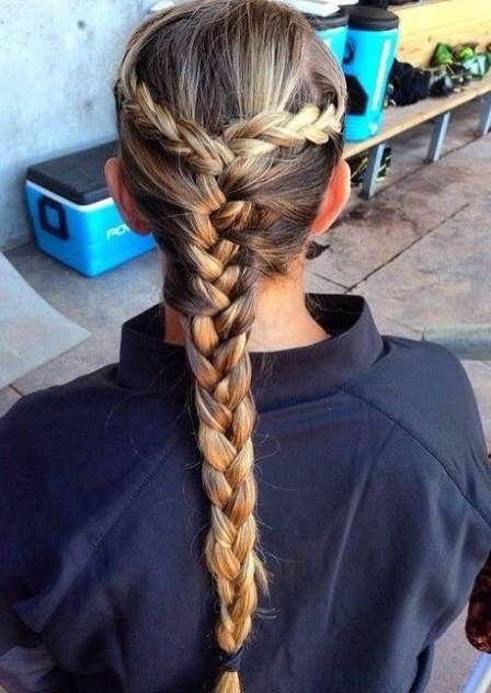 43 New Ideas Sport Hairstyles Soccer Softball Sports Hairstyles Sporty Hairstyles Braided Hairstyles