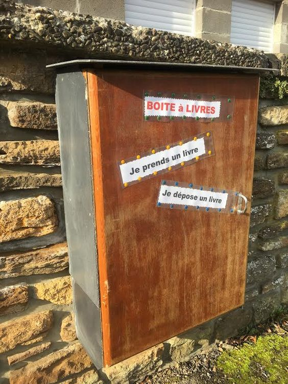 Boîte à lire Aubange