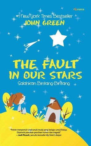 The Fault In Our Stars Indonesian Cover / Bajo La Misma Estrella Portada de Indonesia