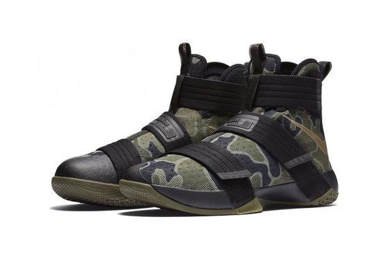 The LeBron Soldier 10 Receives a Well-Deserved Dose of Camouflage