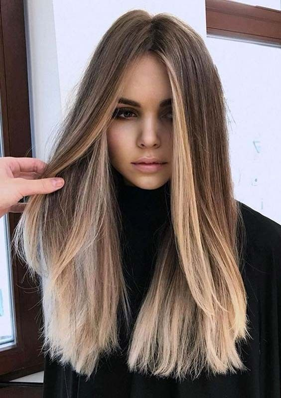 Sensational Combination Of Long Hairstyles And Colors In 2020 Balayage Hair Hair Styles Hair Inspiration Color