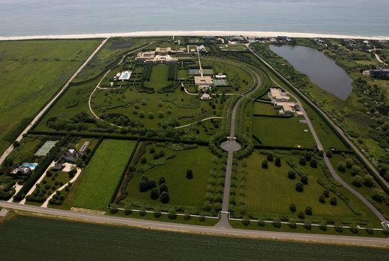 Fairfield Pond is the Hamptons home of junk bond billionaire Ira Rennert. Rennert used his $6 billion net worth to build his 63 acre compoun...