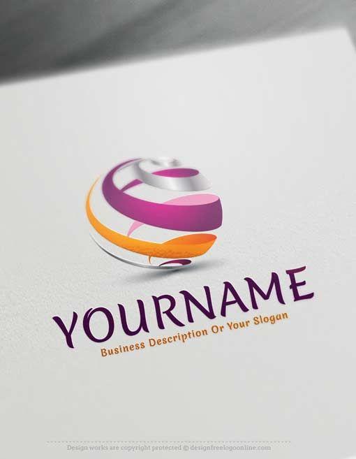 Online Logo Logo Templates And Logo Maker On Pinterest