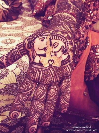 Dulha Dulhan Mehndi Design Wwwnakrezemehndi  Henna 2