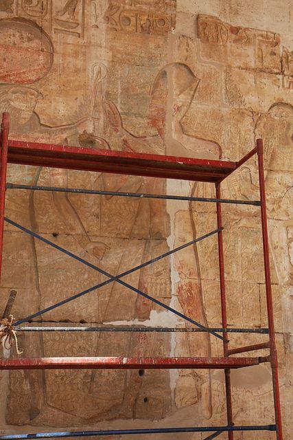 Templo de Sethi I , Abidos.   por Soloegipto