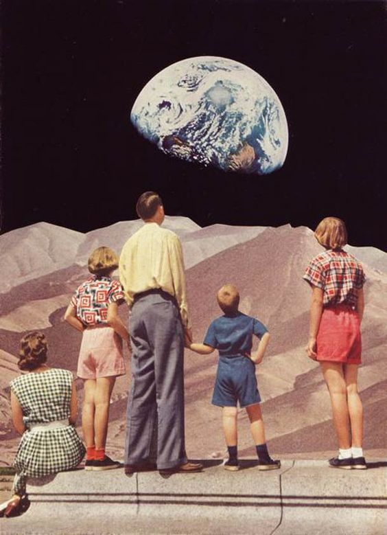 Une sélection des créations de l'artiste américaine Beth Hoeckel, basée à Baltimore, qui réalise de superbes collages surréalistes et oniriques à part