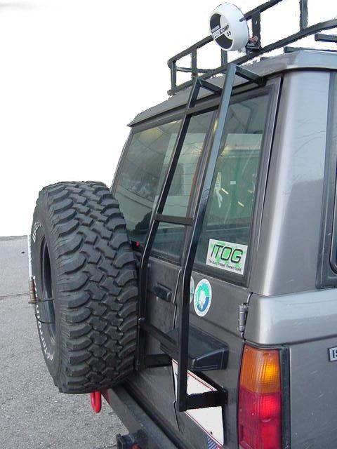 Isuzu Rear Door Ladder 86 91 Trooper Trooper Jerry Can Exterior Accessories