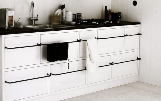 Leva Husfabrik Kok Jansson : Towels, Cabinets and Bar on Pinterest