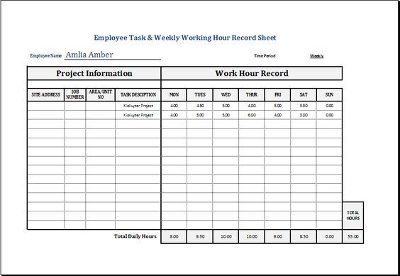 Staff count sheet template DOWNLOAD at    wwwxltemplatesorg - bill of lading templates