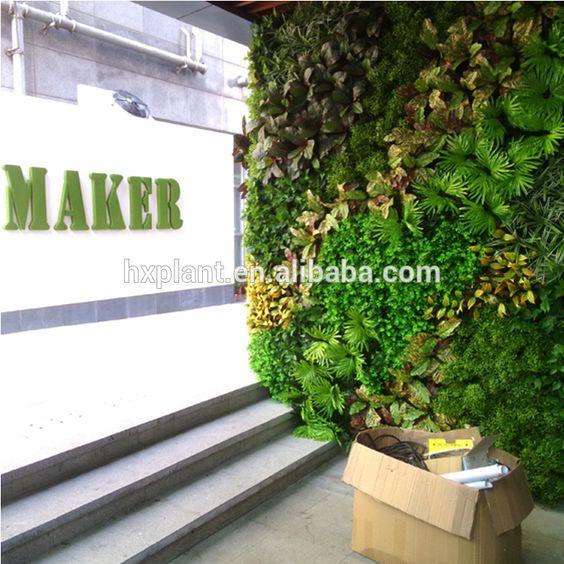 Latest Artificial clover leaf vertical green wall#artificial green wall#green wall
